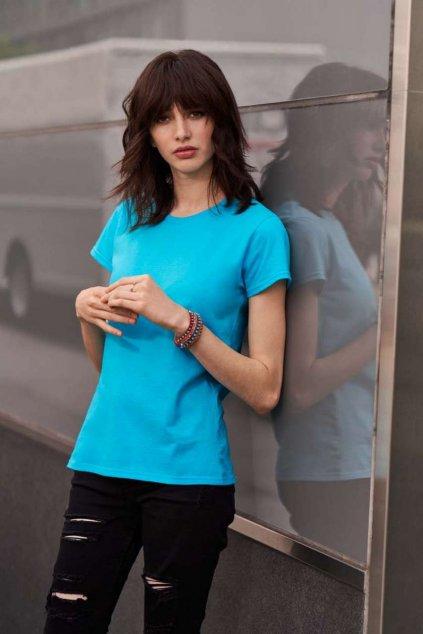 Dámské bavlněné lehčí tričko Anvil