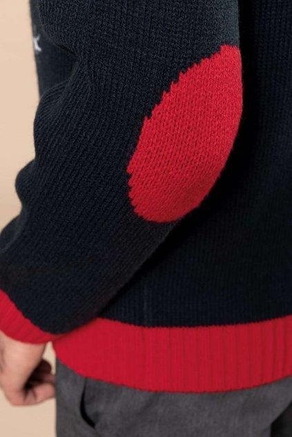 Vánoční svetr se sněhulákem Kariban