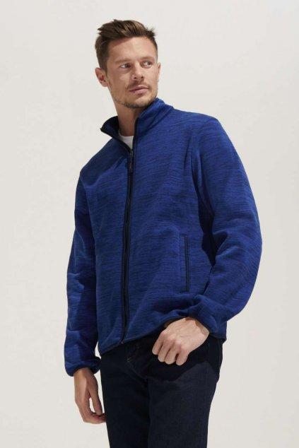 Pánská bunda z pleteného fleecu TURBO
