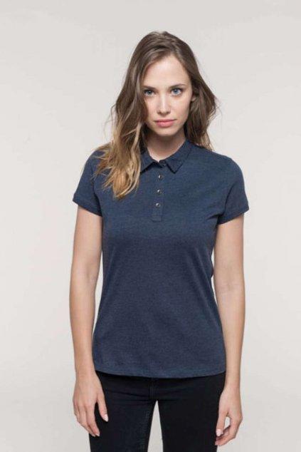 Dámské bavlněné polo tričko KARIBAN