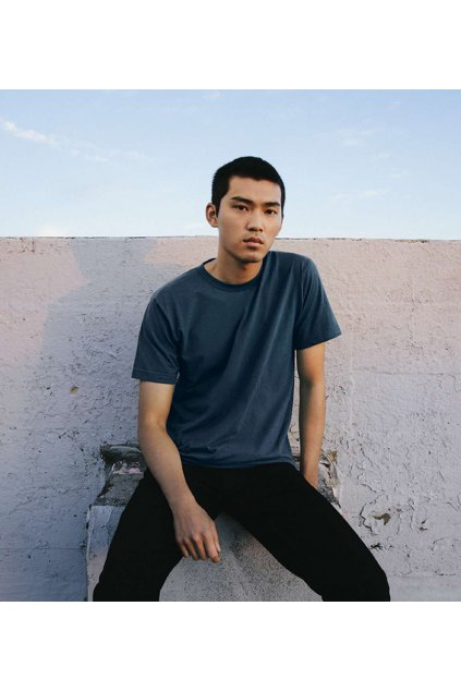 Unisex bavlněné tričko Fine American Apparel