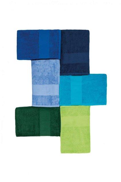 Unisex bavlněný ručník menší Kariban