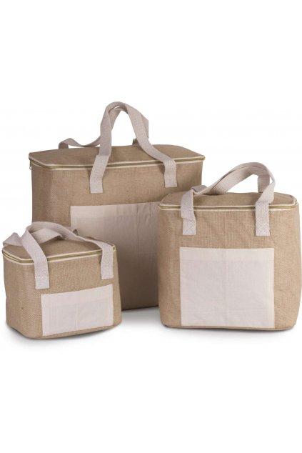 Chladící jutová taška s kapacitou 12L