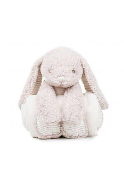 Plyšový králíček s dečkou