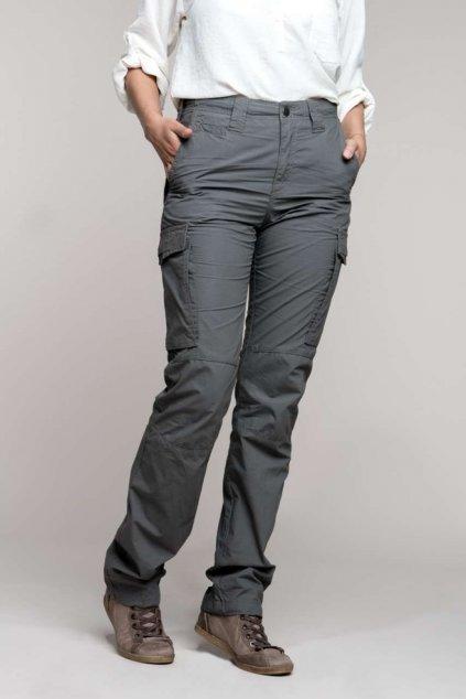 Dámské dlouhé kalhoty s kapsami Kariban