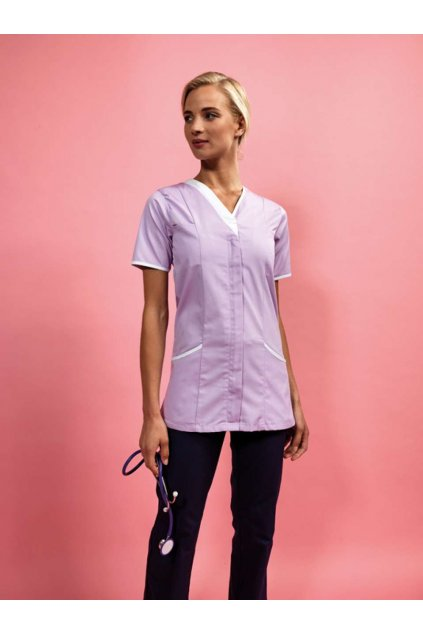 Zdravotnická dámská tunika kombinovaná