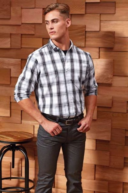 Pánská košile s dlouhým rukávem GINMILL