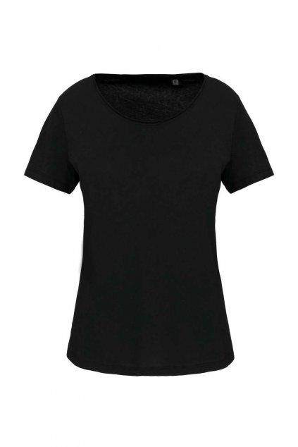 Lehké dámské tričko z BIO bavlny Raw
