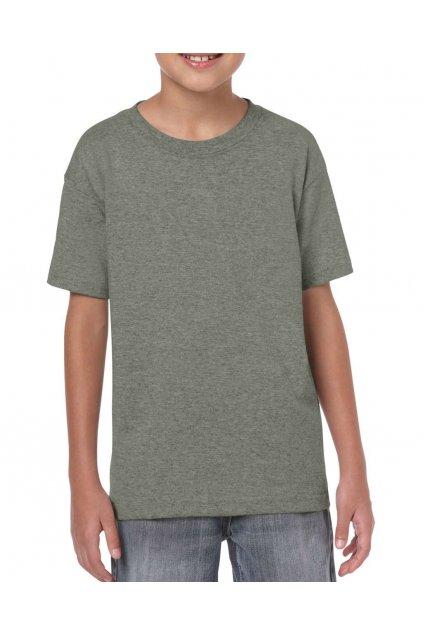 Dětské bavlněné tričko s krátkým rukávem GILDAN