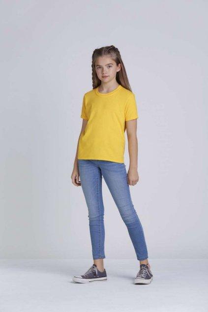 Dětské bavlněné tričko SOFTSTYLE
