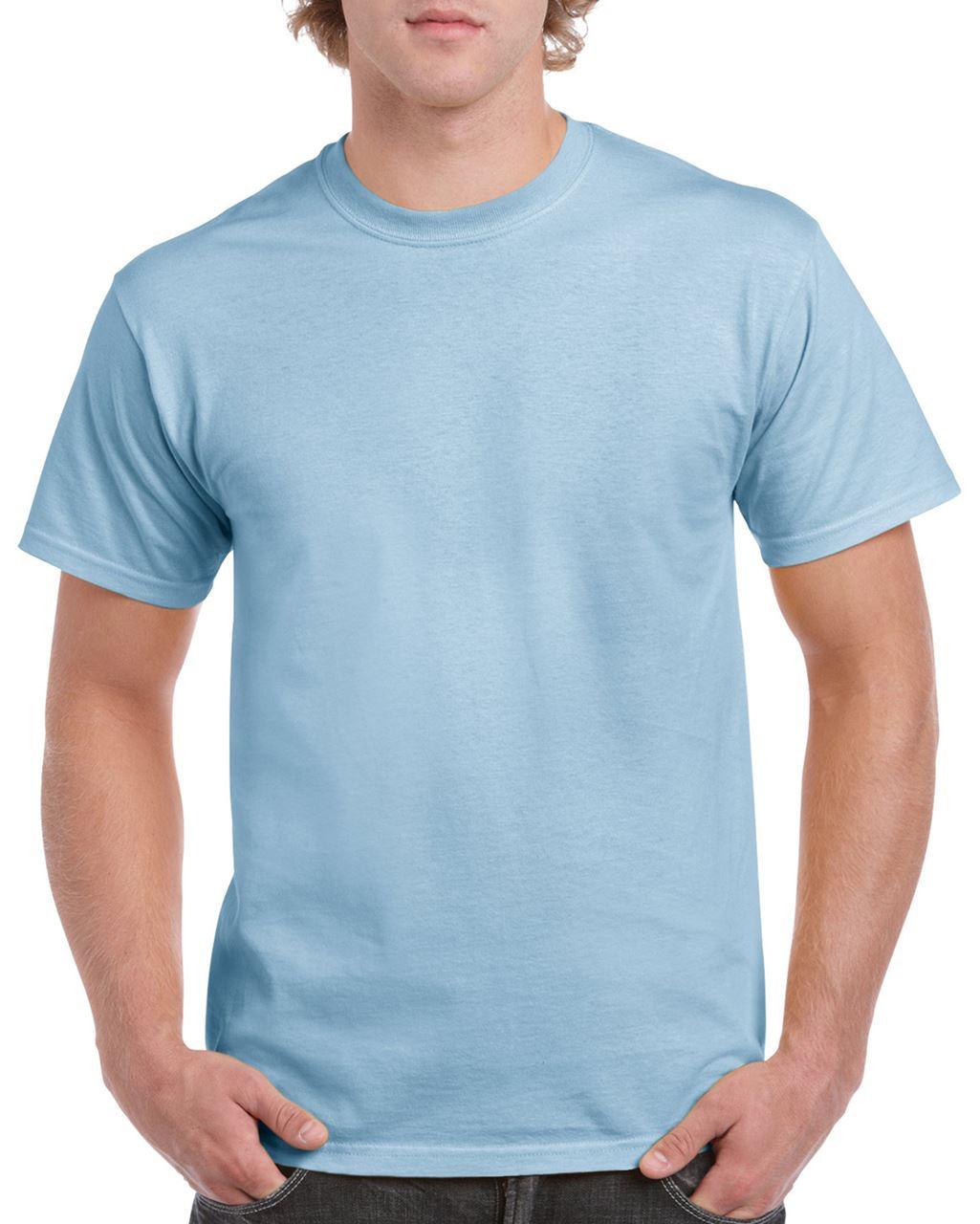 Levně Unisex tričko HEAVY COTTON – světle modrá, vel. L