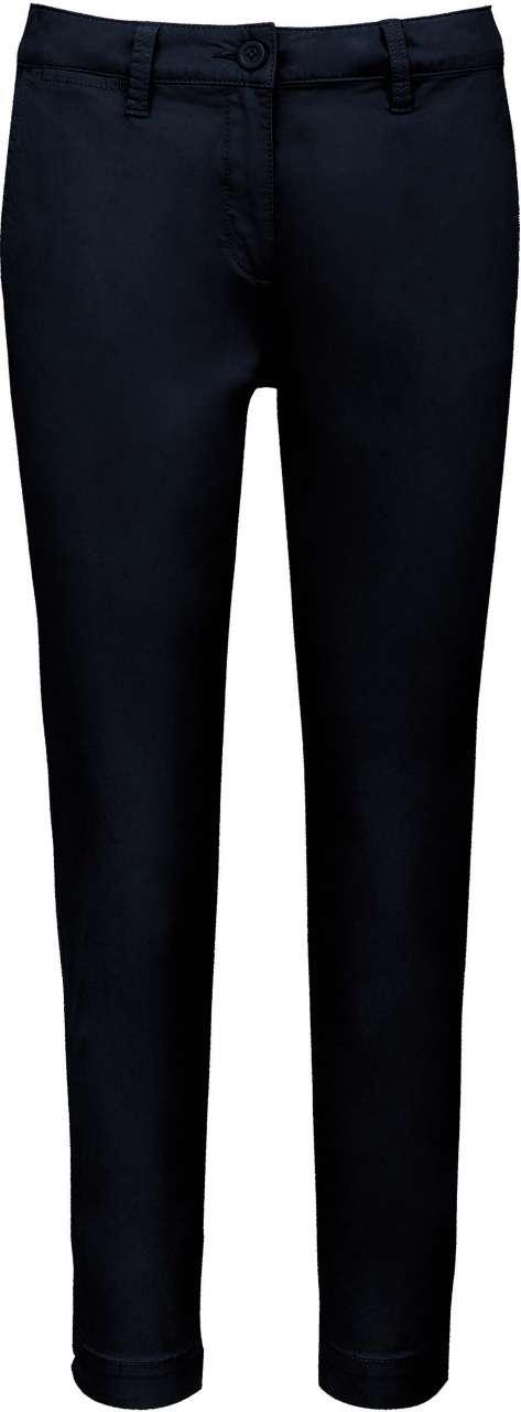 Levně Dámské kalhoty Kariban Velikost: 36, Barva: opraná tmavě námořnická modrá