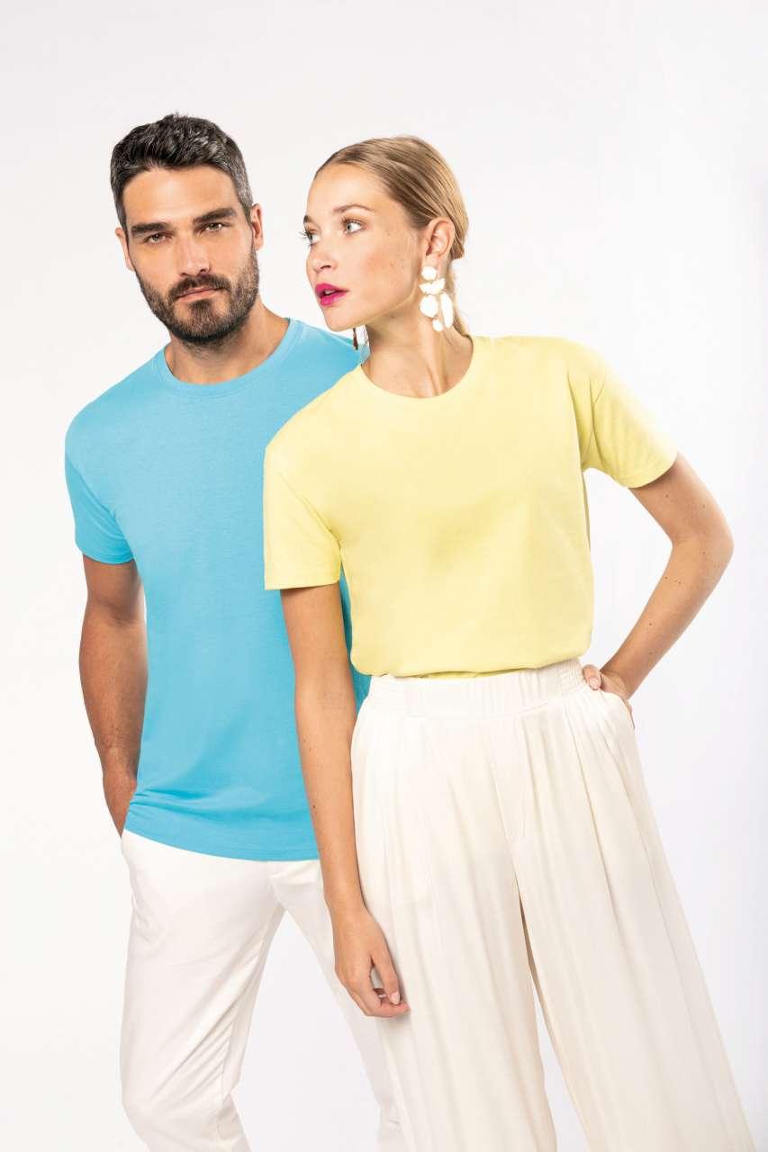 Levně Unisex organické tričko Kariban – Terracotta Red, vel. 5XL