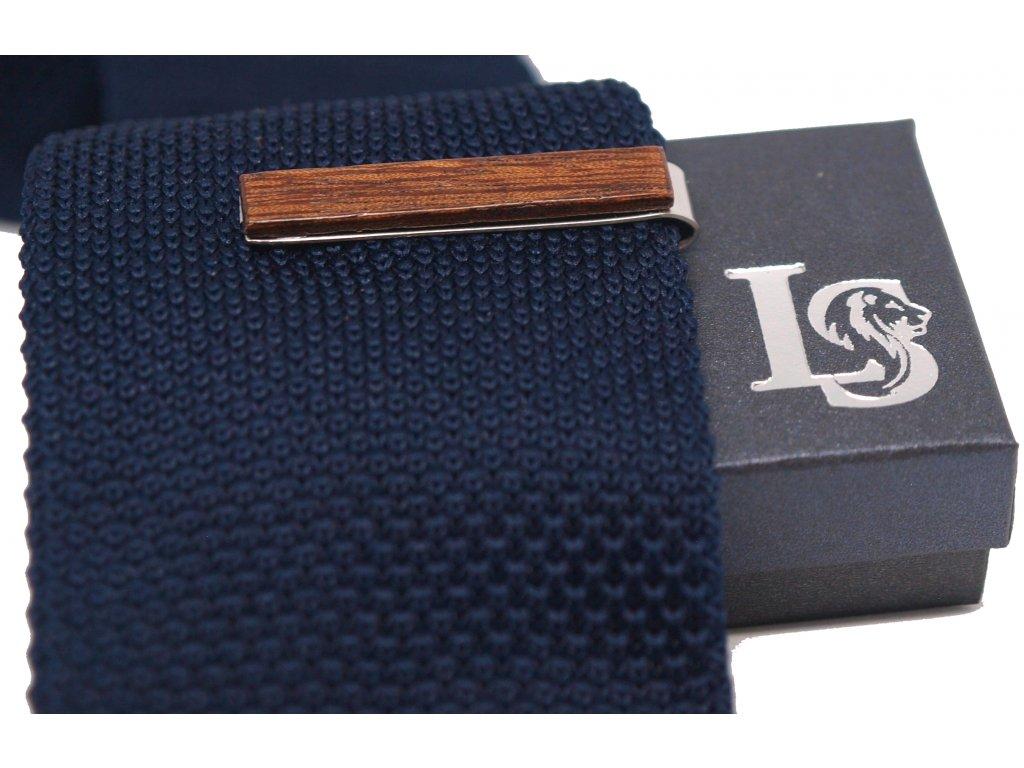 spona na kravatu palisandr