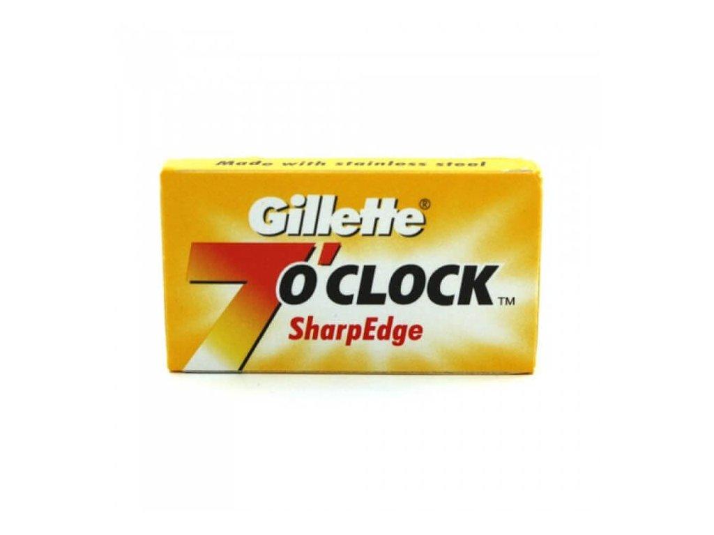 Gillette 7 Oclock Sharp Edge žiletky