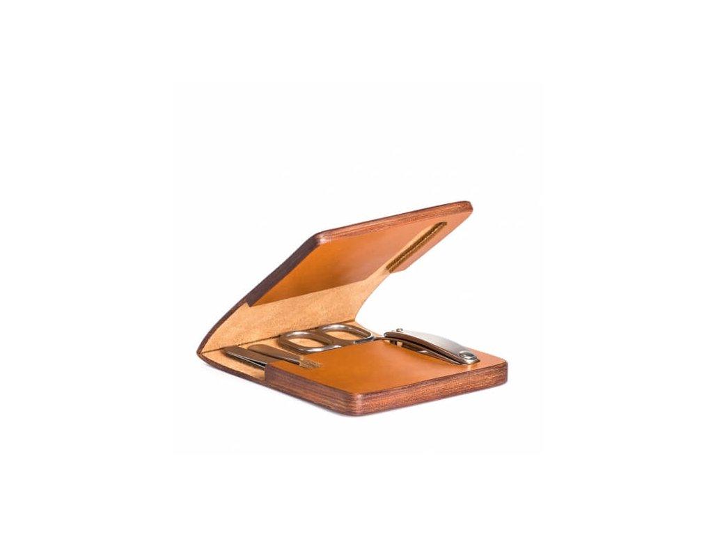 Mühle manikúra v koženém pouzdře