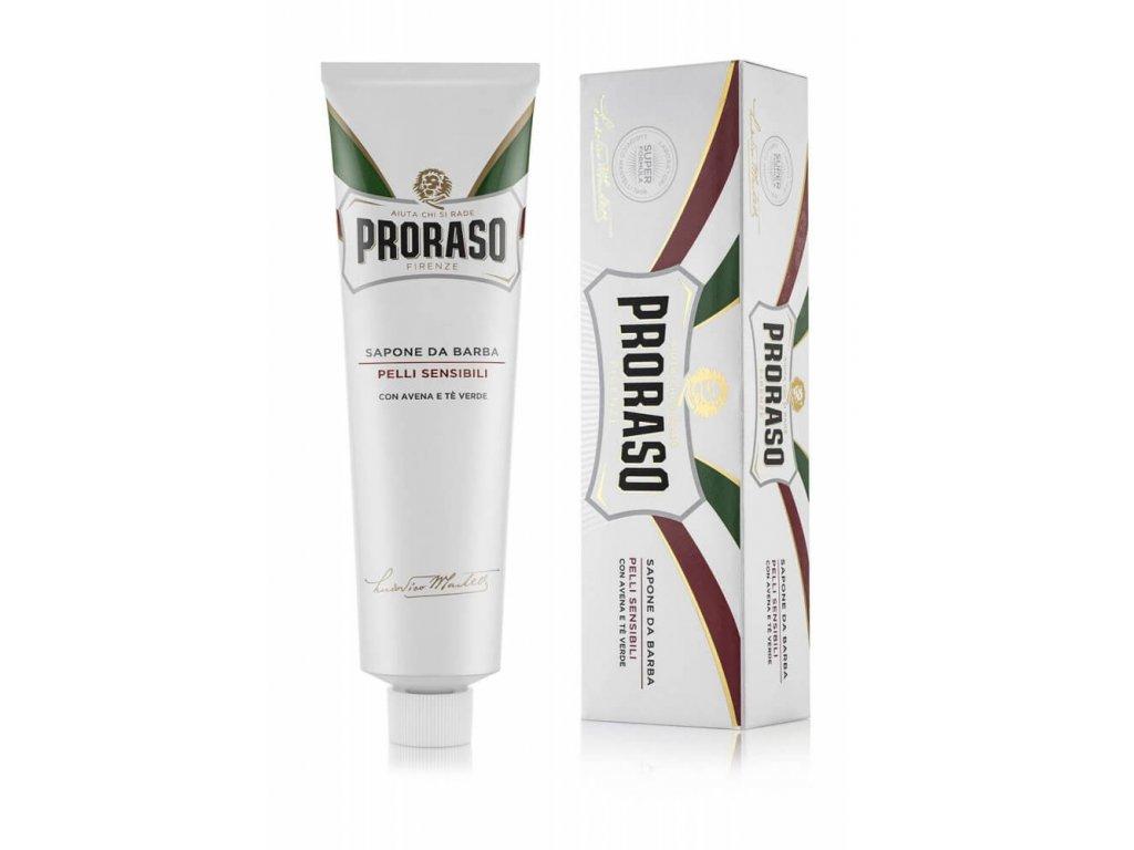 Proraso Sensitive krém pro citlivou pokožku v tubě 150 ml