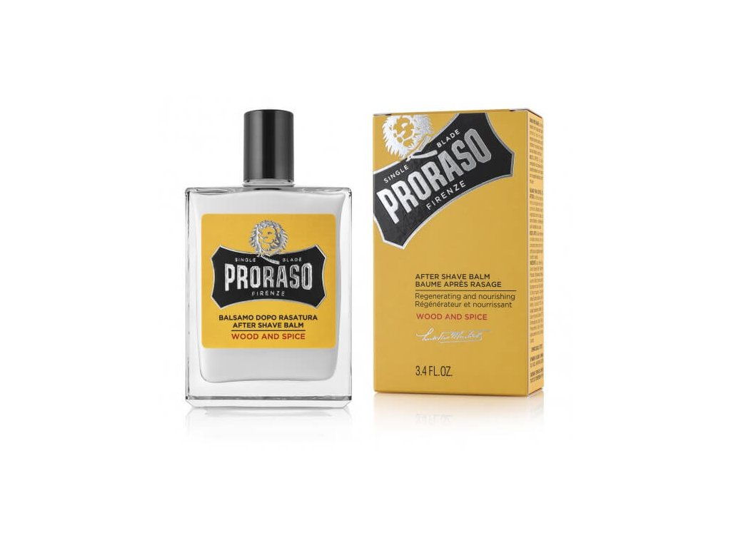 Proraso Wood and Spice balzám po holení 100 ml