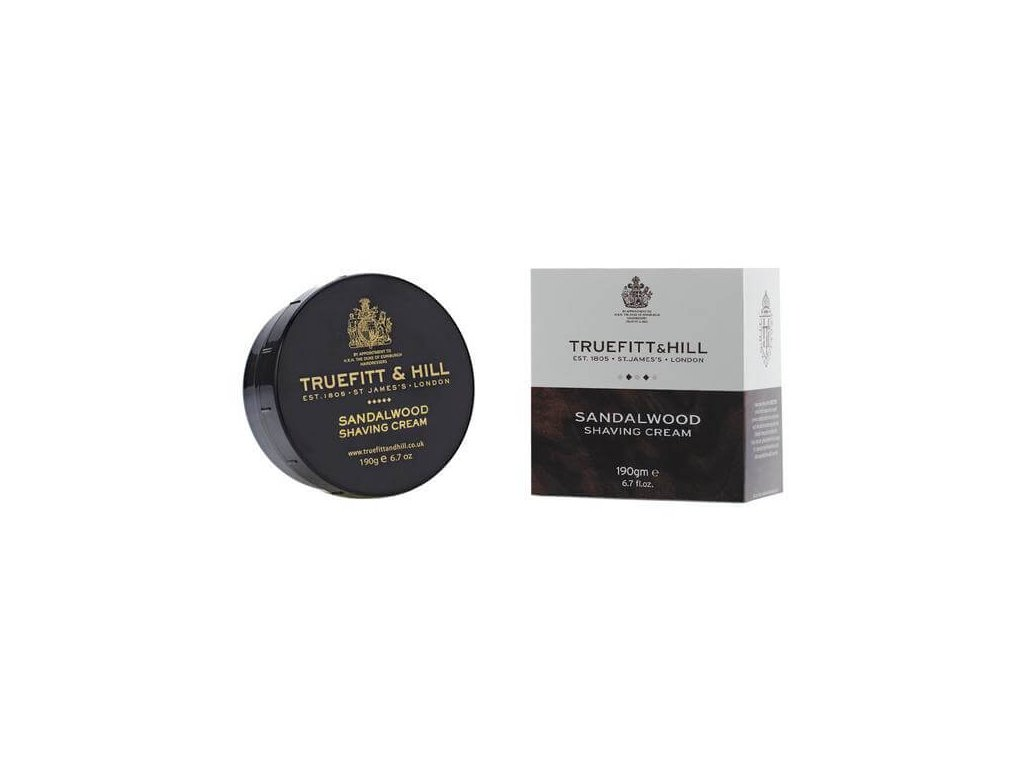 Truefitt and Hill Sandalwood krém na holení 190 g