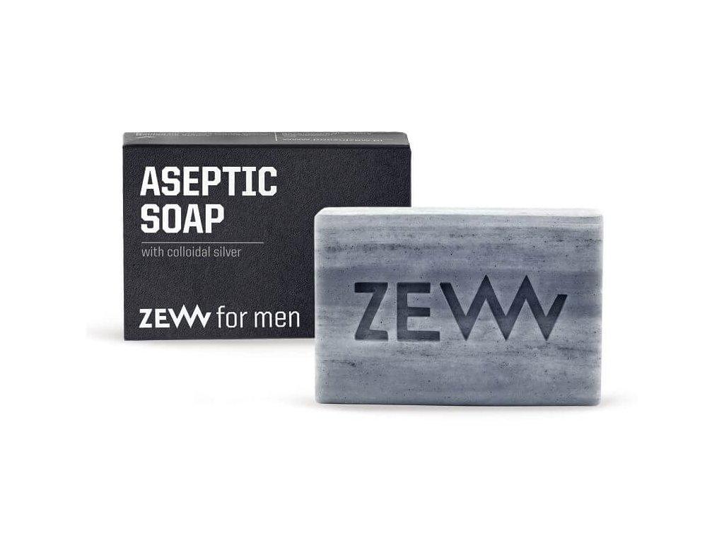 Zew for men aseptické mýdlo s koloidním stříbrem 85 ml