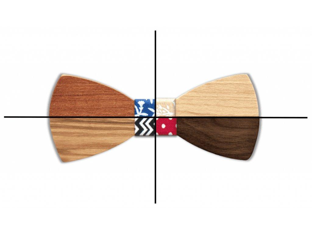 Dřevěný motýlek konfigurátor