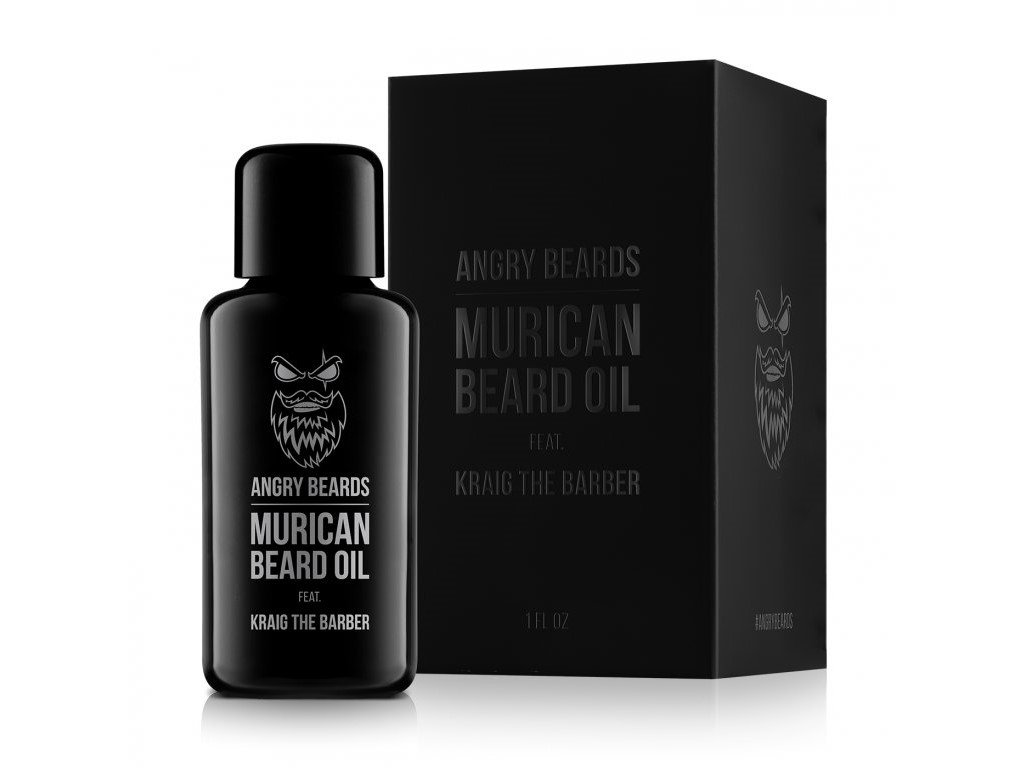 Angry Beards Murican, olej na vousy 29.50 ml