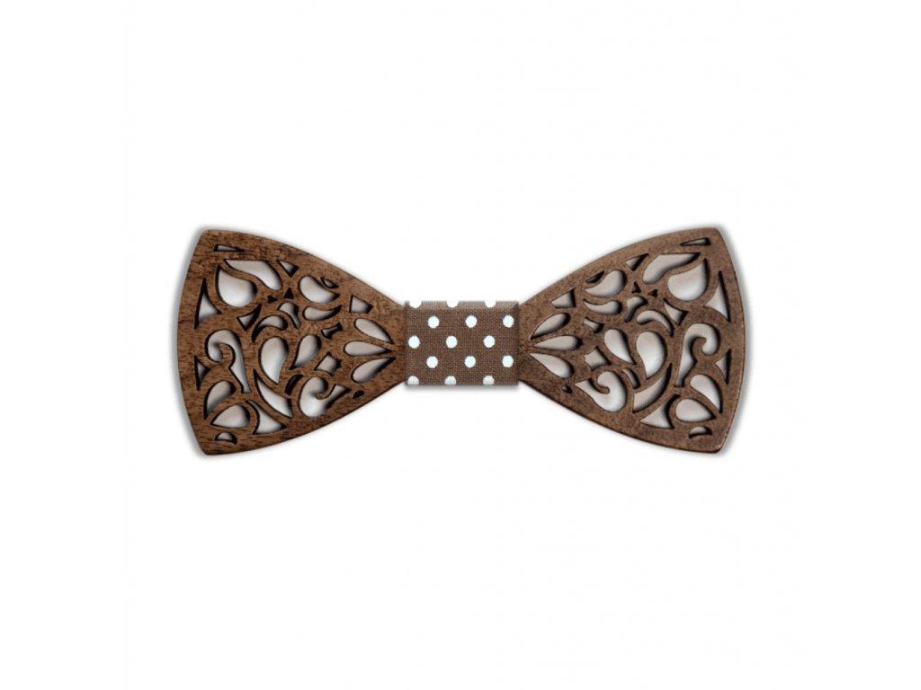 Dřevěný motýlek Vincent vyřezávaný