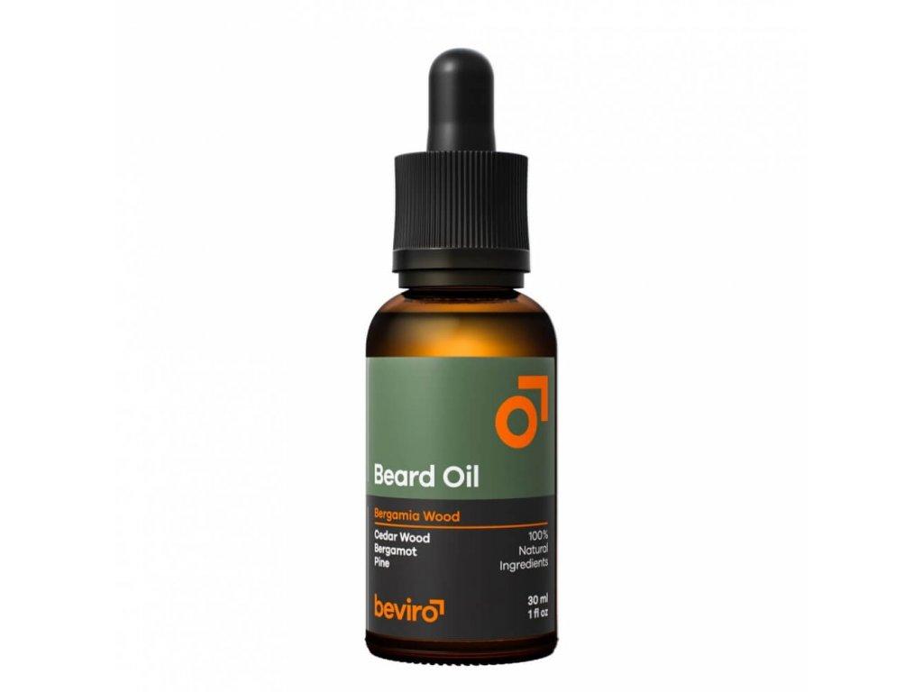 Beviro Bergamia Wood olej na vousy 30 ml