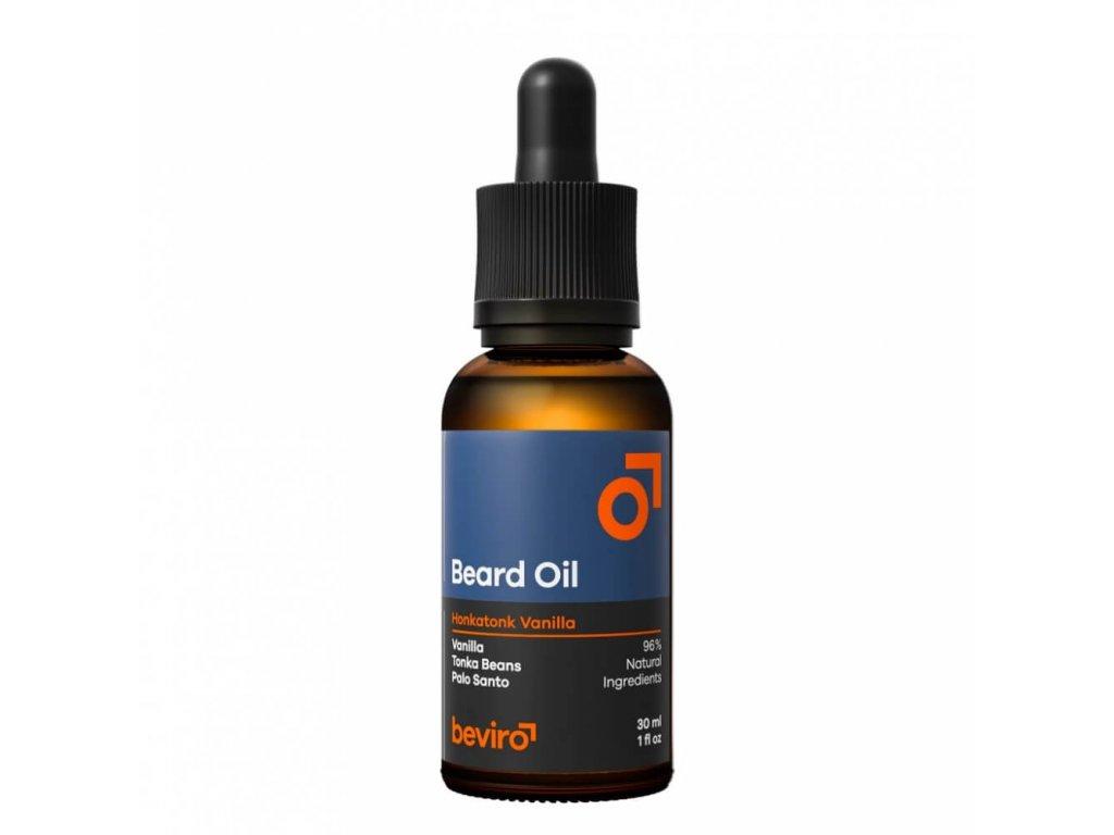 Beviro Honkatonk Vanilla olej na vousy 30 ml