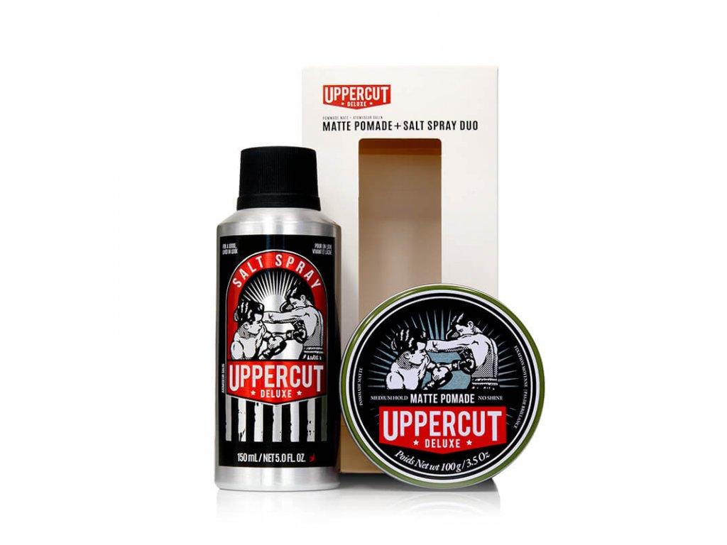 Uppercut sada matná pomáda a sea salt spray