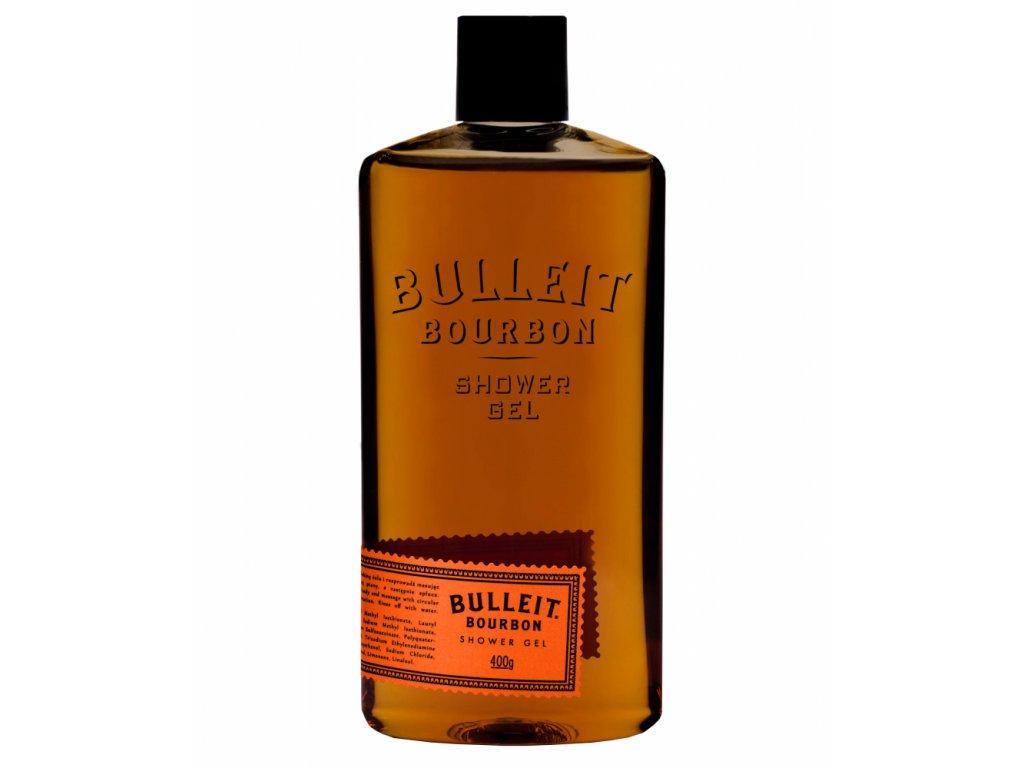 Pan Drwal Bulleit Bourbon sprchový gel 400 ml