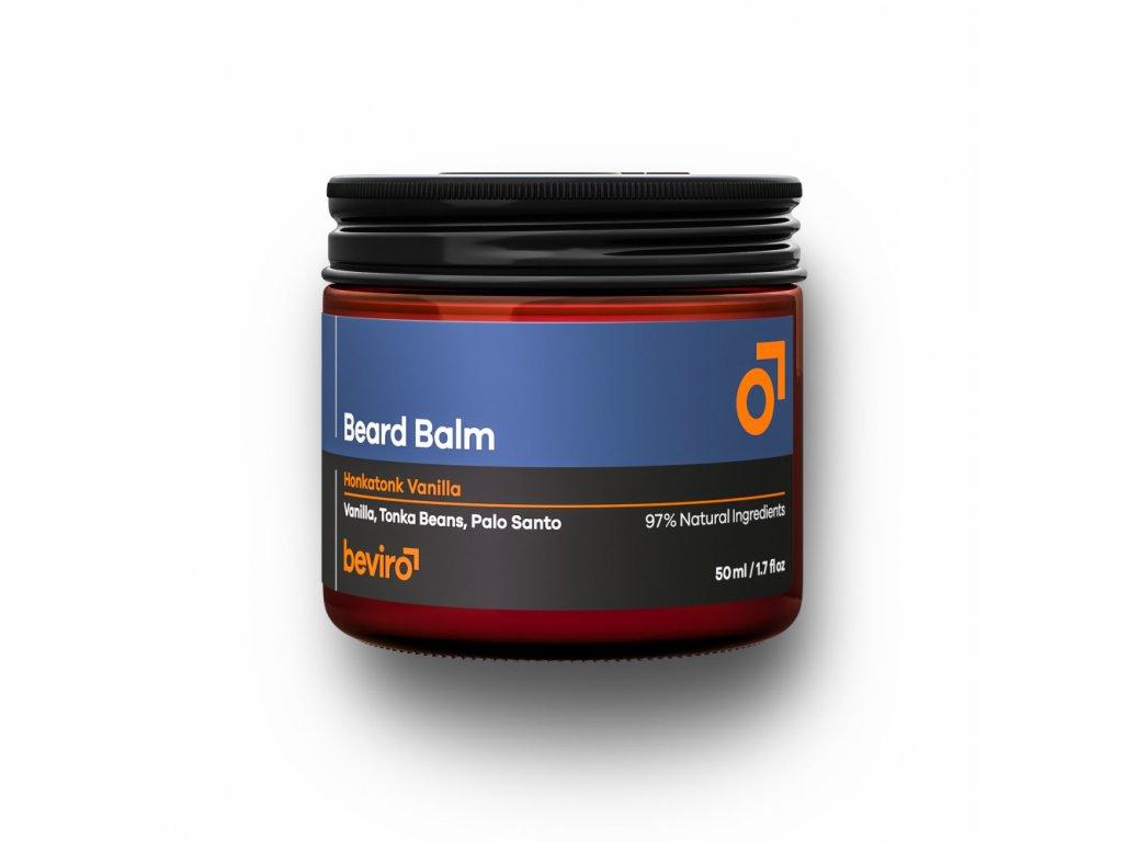 Beviro Honkatonk Vanilla balzám na vousy 50 ml