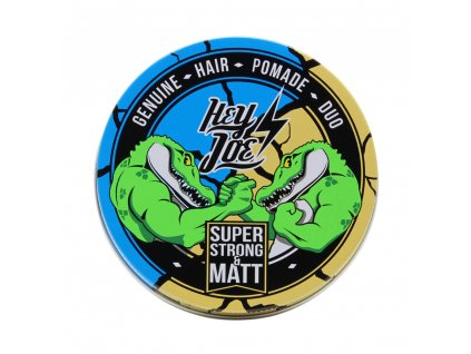 Hey Joe Duo Super Strong Matt pomáda 100 ml