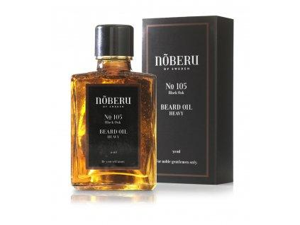 Noberu Black Oak Heavy olej na vousy 30 ml
