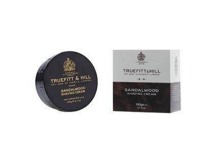 Truefitt and Hill Sandalwood krém na holení 190 g