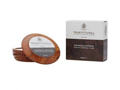 Truefitt and Hill Sandalwood mýdlo na holení v misce