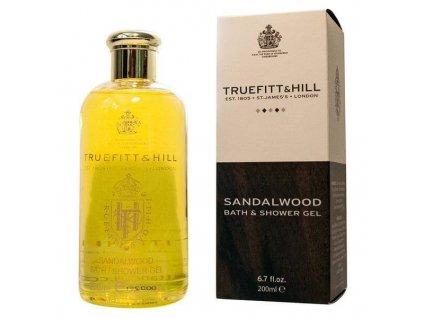 Truefitt and Hill Sandalwood sprchový gel 200 ml