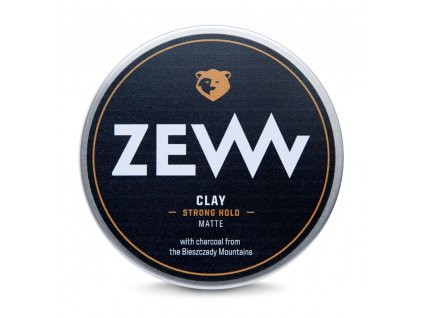 Zew for men Charcoal matný jíl 100 ml