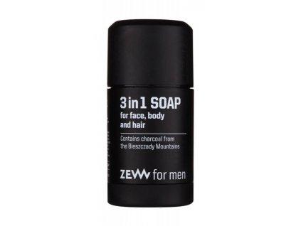 Zew for men Stick mýdlo na obličej, tělo a vlasy 3v1 85 ml
