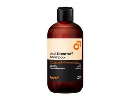 Beviro Anti-Dandruff šampon proti lupům 250 ml