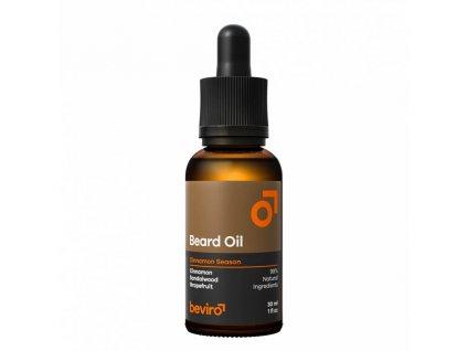 Beviro Cinnamon Season olej na vousy 30 ml