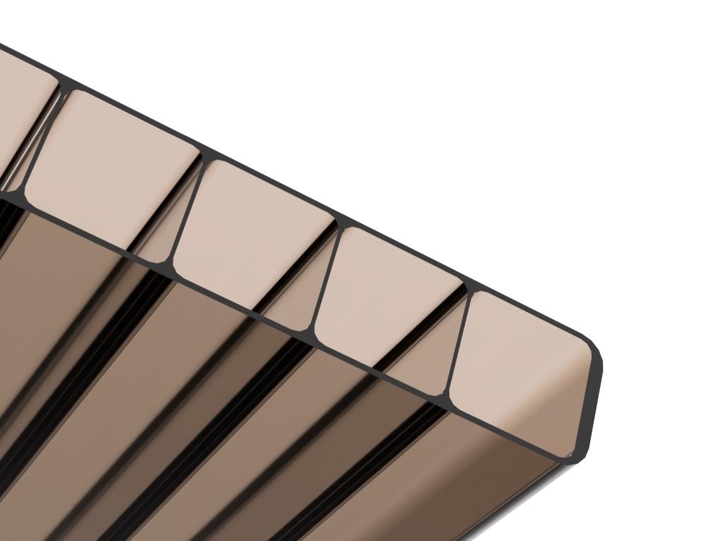Komůrkové / dutinkové polykarbonátové desky s UV filtrem
