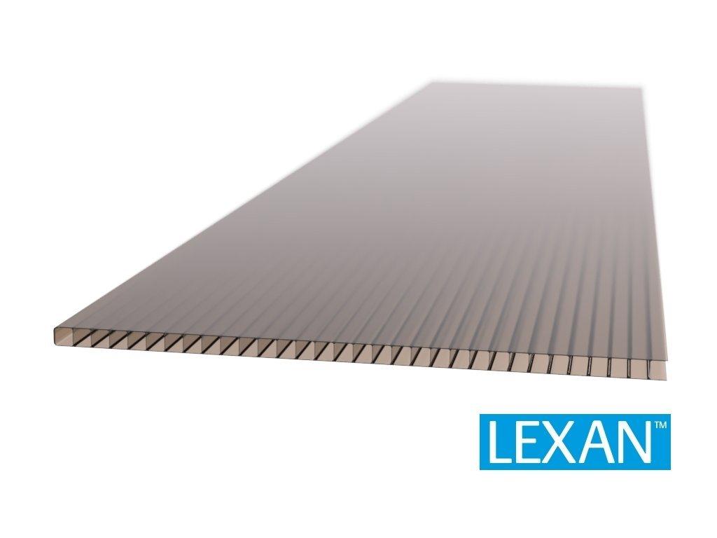 Polykarbonátová deska komorová LEXAN 10 mm bronz 2UV