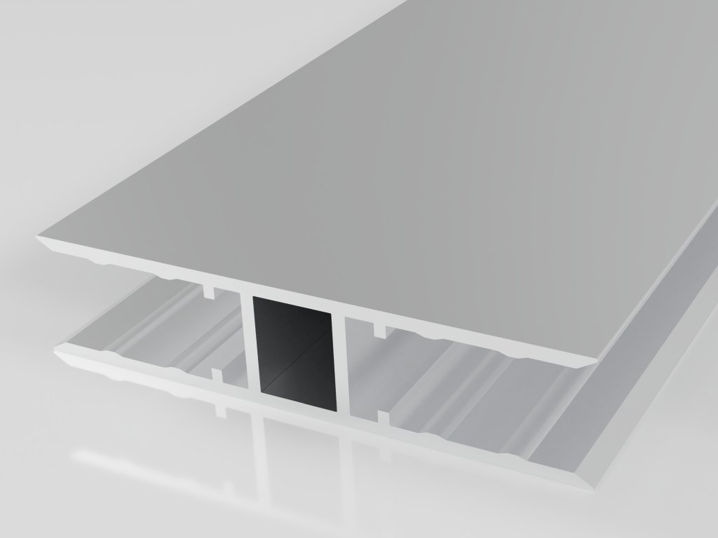 Hliníkový spojovací profil  H10 (Délka 6000, Šířka 3050)