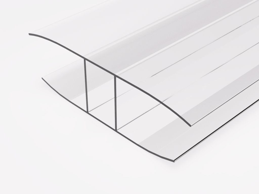 209 plastovy profil h16