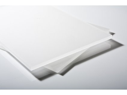 Polykarbonátová deska LEXAN plná 6 mm mléčná 2UV (Délka 2050, Šířka 3050)