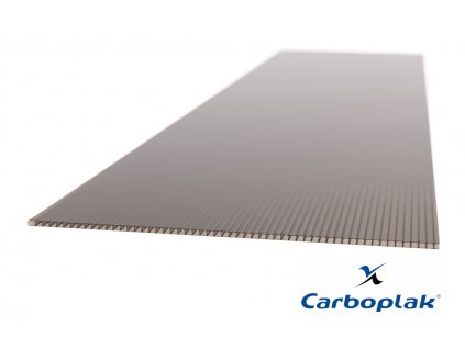 Polykarbonátová deska Carboplak komorová 4 mm bronz (Délka 2000, Šířka 1050)