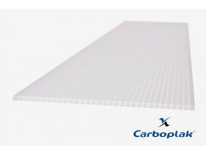 Polykarbonátová deska Carboplak komorová 6 mm opál (Délka 2000, Šířka 1050)