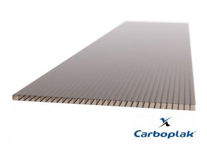 Polykarbonátová deska Carboplak komorová 10 mm bronz (Délka 1000, Šířka 1050)