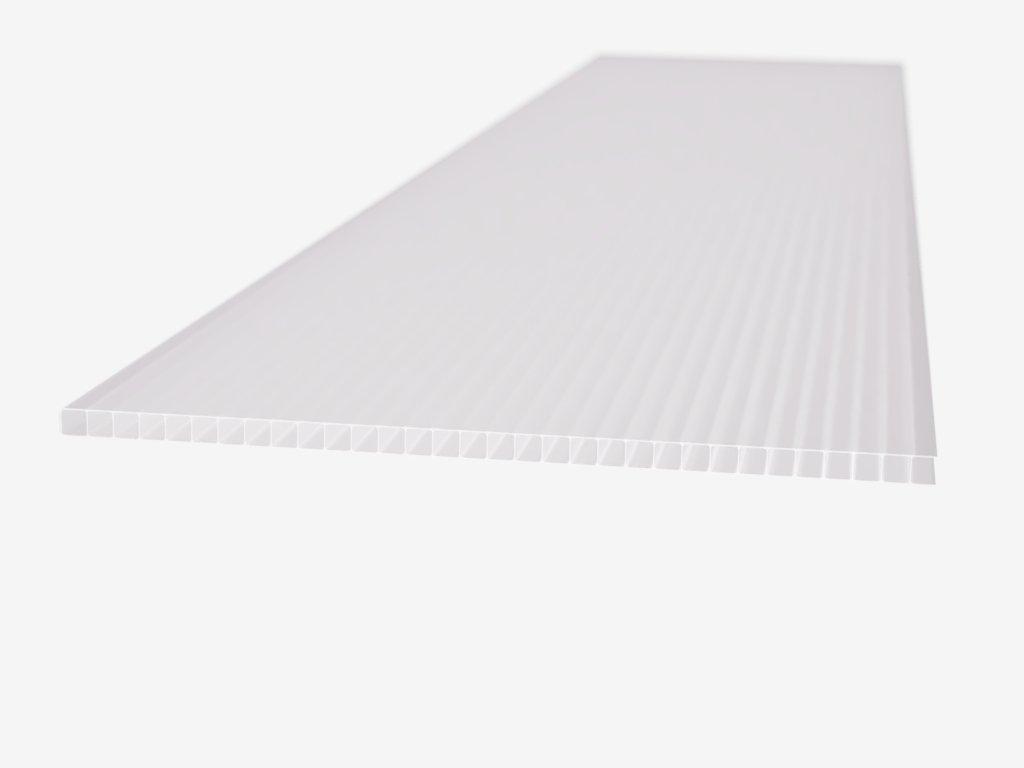 Polykarbonátová platňa LEXAN komorová 10 mm biela UV (Délka 1000, Šířka 1050)